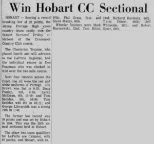Hobart CC Sectional