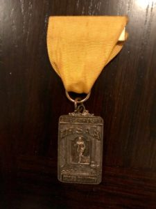 1971 4th place state meet medal