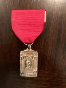 1973 State runnerup medal