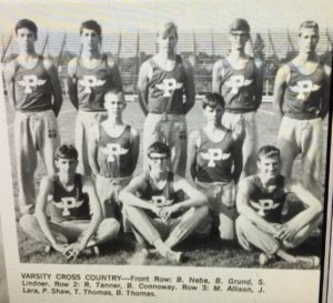 1968 XC team (1969 PHS Legend)