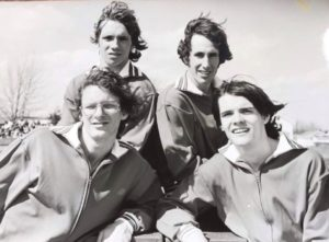 Clockwise from top left: McEwan, Sanidas, Mulvihill and Wishnevski