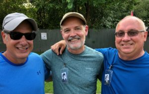 Tom Sanidas, Shawn Mulvihill and Larry McEwan (Aug 2018)
