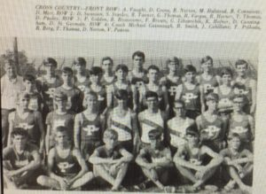 1969 XC team (1970 PHS Legend)