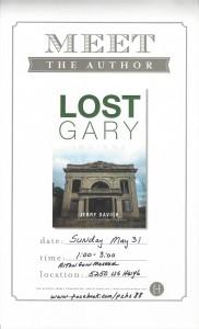 Lost Gary flyer