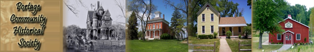 Portage Community Historical Society Logo