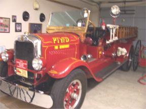 1929 American LaFrance firetruck