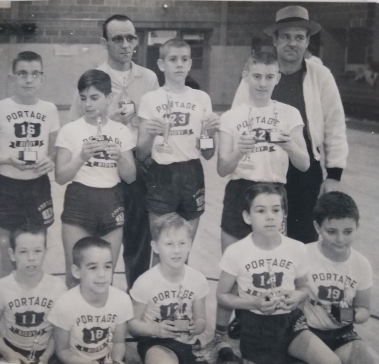 Portage Biddy Basketball Tournament Champions 1960-61