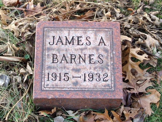 BARNES James A. dod 1932 DSCF1281.JPG
