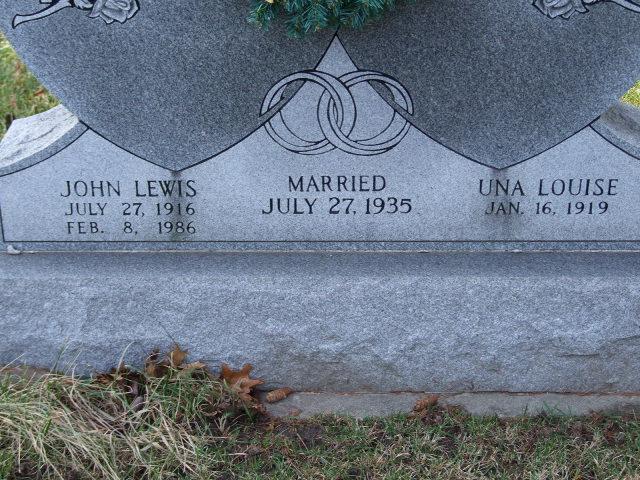 BARNEY John Lewis dod 1986 & Una Louise dod unknown DSCF1132 .JPG