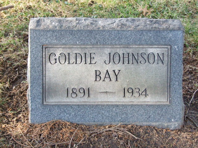 BAY JOHNSON Goldie dod 1934 DSCF1161 .JPG