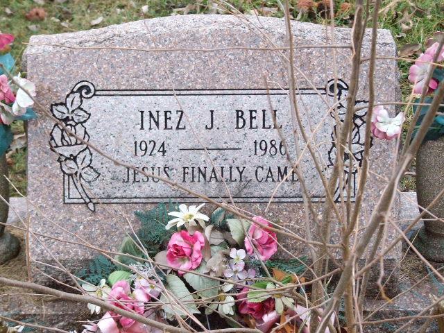 BELL Inez J. dod 1986 DSCF1944.JPG