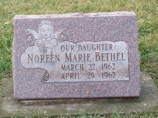 BETHEL Noreen Marie dod 1962 infant DSCF1859.JPG