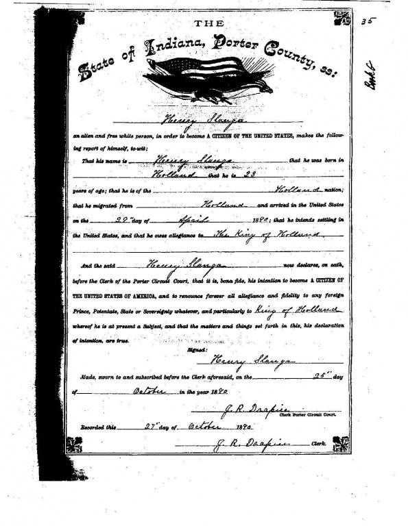 H Slanger naturalization.jpg