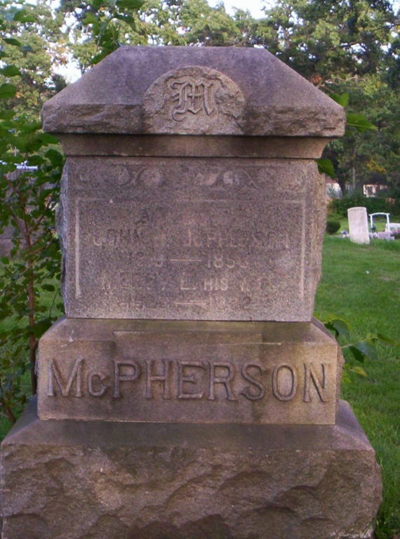McPhearson grave.JPG
