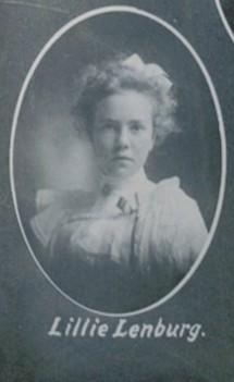 Lenburg Lillie 1901.jpg