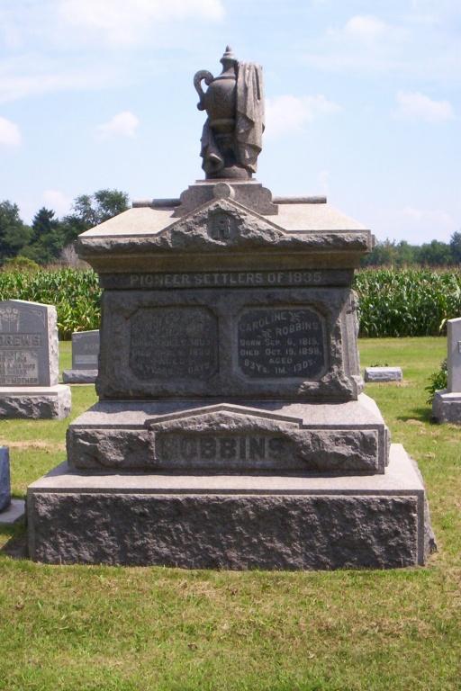 Robbins SP gravestone.JPG