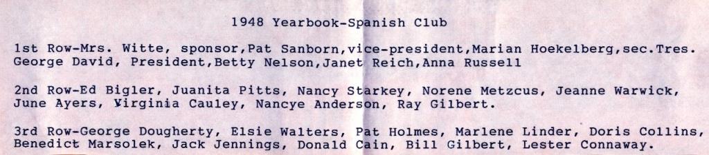 1948 Yearbook-Spanish Club Names.jpg