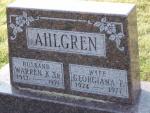 AHLGREN Warren K Sr. & Georgiana 1664.JPG