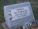 ALLENBAUGH HERMAN dod 1988 DSCF2240.JPG