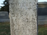 ARNOLD Phoebe J. wife of Elisha dod 16 OCT 1897 S8 0383 .JPG