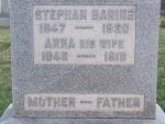 BARING Stephan dod 1920 & Anna his wife dod 1916 0774 .JPG