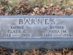 BARNES Claud C. dod 1956 & Anna M. dod 1954 DSCF1280.JPG