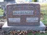 BEHRENDT Julius O. dod 1977 & Lulu E. dod 1948 S15  0203.JPG
