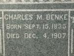 BENKE Charles M. dob 15 sept 1835  dod 4 dec 1907  S11 .JPG