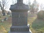 BENKE Eva R. mother of Charles M.  dob 28 Sep 1827  dod 14 oct 1911 Plot S11.JPG