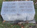 BETTS ELLA MAY DOD 1919 & WALTER BIERGE DOD 1904 S16 .JPG