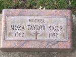 BIGGS Mora Taylor dod 1922 DSCF1012 .JPG