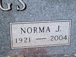 BIGGS Norma J. dob 1921 dod 2004 1312.JPG