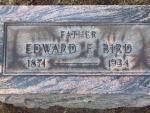 BIRD Edward F. dod 1934 DSCF1165 .JPG