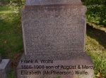Wolfe Frank grave.JPG