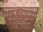 Crisman Headstone.jpg